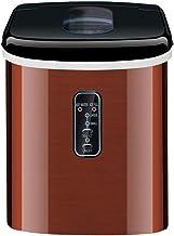 Machine à glaçons Petit commerce Mini Home Ice Maker, de glaçons 16 kg en 24 heures, glace pleine Indication/Glaçons Prêt ...