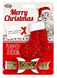Pet Brands Christmas Play and Fill Cat Stocking