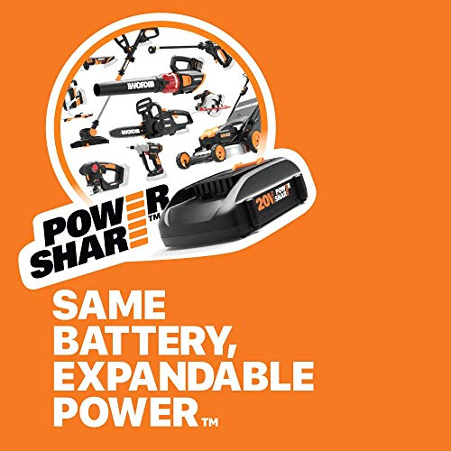 WORX WX917L 2 in 1 Combo Kits with WX174L 20V Li Drill Driver and WX261L 20V Brushless Impact Driver Battery and Charger Included