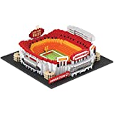 FOCO NFL Kansas City Chiefs 3D BRXLZ Stadium Building Block Set3D BRXLZ Stadium Building Block Set, Team Color, One Size