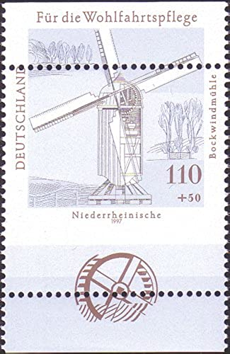 Goldhahn BRD Nr. 1950 postfrisch Totalverz ung Briefürken für Sammler