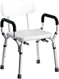 AILZNN Sgabelli da Doccia Regolabili Cambio Antiscivolo Sedile per Anziani//Disabili//Incinto Sedile Doccia Pieghevole A Parete//Sgabello//Sedia in Bagno//Corridoio