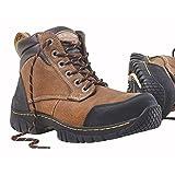 Dr Martens Riverton - Botas de seguridad (talla 9), color marrón