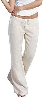 234 Donna Pantaloni Pantaloni Gonna ampia spiaggia pantaloni leggeri estate Pantaloni