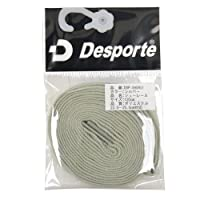 Desporte(デスポルチ)【DSP-SHOR01】フットサル シューレース 靴ひも シルバーシルバー 120