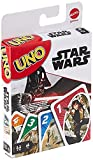UNO Star Wars Matching Card Game Featuring 112 Cards with Unique Wild Card & Instructions for Players 7 Years Old & Up, Gift for Kid, Family & Adult Game Night, Multi