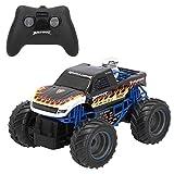 New Bright - Coche teledirigido 4x4 niños 4 años Escala 1:24 Monster Truck (46570)