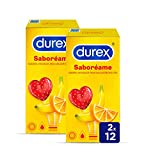 Durex Preservativos Saboreame con Sabores Afrutados - 24 Condones