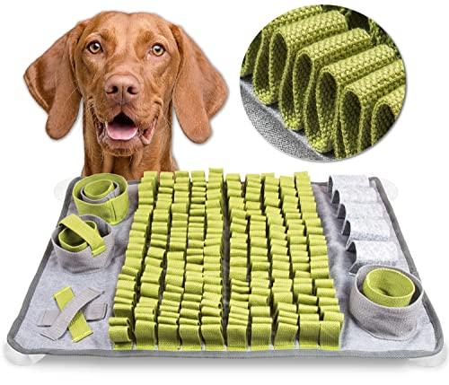 ToBu Line® Schnüffelteppich Hund - Interaktives Hundespielzeug Intelligenz fördernd - Intelligenzspielzeug für Hunde zur Beschäftigung und Auslastung - Denkspielzeug