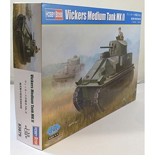 Hobby Boss 83879 – Modèle Kit Vickers Medium Réservoir MK II