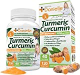 Turmeric Curcumin with BioPerine 1500mg. Highest Potency Available. Premium Organic Joint & Healthy Inflammatory Support. Organic, Non-GMO, Gluten Free Capsules with Black Pepper Extract