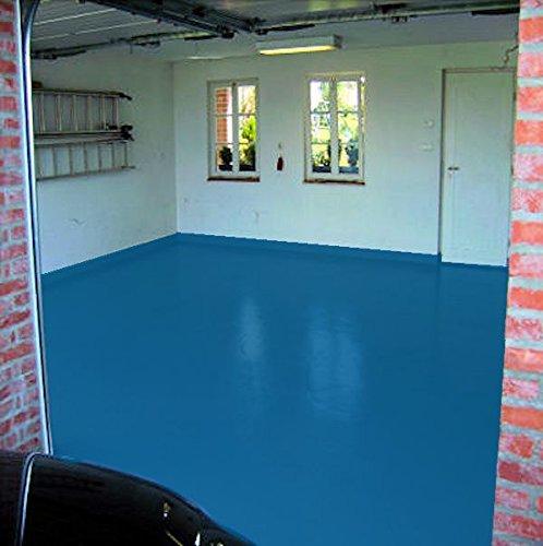 Pintura para garajes de 2,5, 5, 5, 10, 20 kg, color asfalto, para señalización de estrás, hormigón, pintura para suelo brillante, resistente a plastificantes según RAL