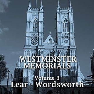 Westminster Memorials - Volume 3 cover art
