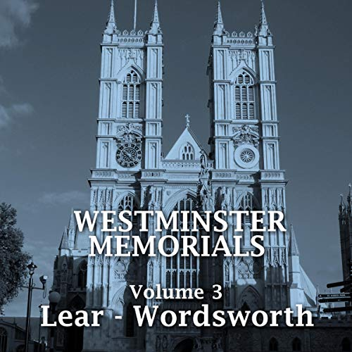 Westminster Memorials - Volume 3 cover art