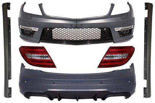 Kitt Cocbmbw204 C63tl carrosserie kit Spotr Noir diamant LED Feu arrière