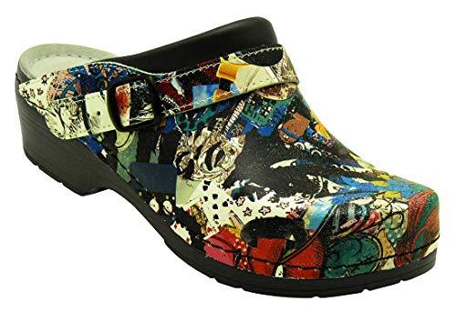 AWC, Mules pour Femme - Multicolore - 39