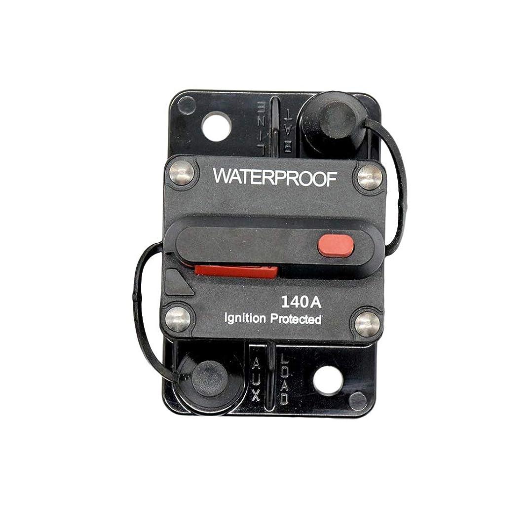 黙包括的スリッパVosarea 140A防水ハイアンプスイッチ式フラッシュマウントサーキットブレーカ(ブラック)