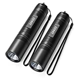 Anker Bolder LC40 LED Flashlight (2 PACK), Pocket-Sized LED Torch, Super Bright 400 Lumens CREE…