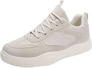 GRIPY Sneakers for Men Fashion Casual Breathable Lace-Up Sneakers Running Sport Shoes Board Shoes Sport Shoes for Men