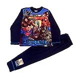 Liga de la Justiceia Caracteres Niños Pijamas 7-8 años (128cm)