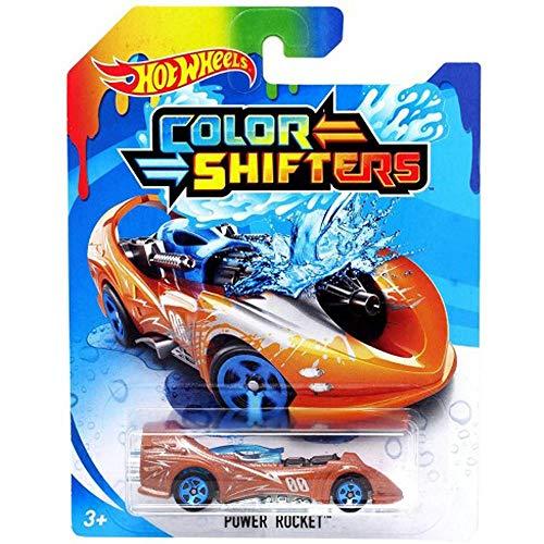 Hot Wheels Color Shifters Power Rocket 2018