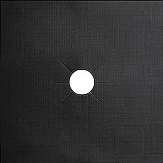 Napperons de Table, Feuille d'aluminium Plaque de Cuisson à gaz Revêtement de Protection d'huile Cuisinière réutilisable T...