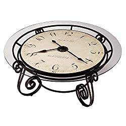 Howard Miller 615-010 Ravenna Cocktail Table Clock by