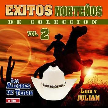 Exitos Norteños De Coleccion  Vol. 2