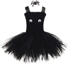 Bambini Costume Di Halloween Pipistrello o SPIDER Gonne 12 cm Costume Costumi Regno Unito