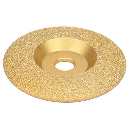 Recortes únicos en forma de diamante Disco de corte de hormigón Hoja de sierra circular para cortar porcelana, azulejos,(100 * 16mm radian)