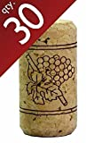 "#9 Straight Corks 15/16"" x 1 3/4"" Bag of 30"