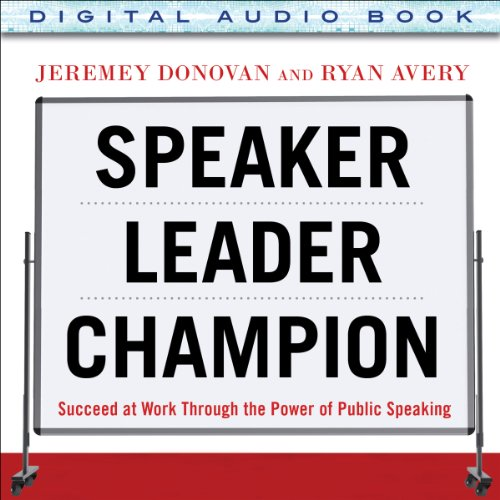 Speaker, Leader, Champion audiobook cover art