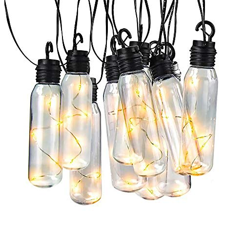 YAOAWE Solar String Lights Bulb UL Certification Decoration for Patio Porch Café Garden Party Wedding Bar