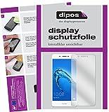dipos I 6X Schutzfolie klar kompatibel mit Huawei Honor 6C Folie Bildschirmschutzfolie