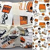Berkshire Peanuts Snoopy Happiness is Halloween 55 x 70 Inch Plush Throw Blanket