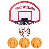 Bnineteenteam Le Jouet de Basket-Ball pour Salle de Bain pour Enfants Comprend Un Rebond et Un Cerceau Trois Ball