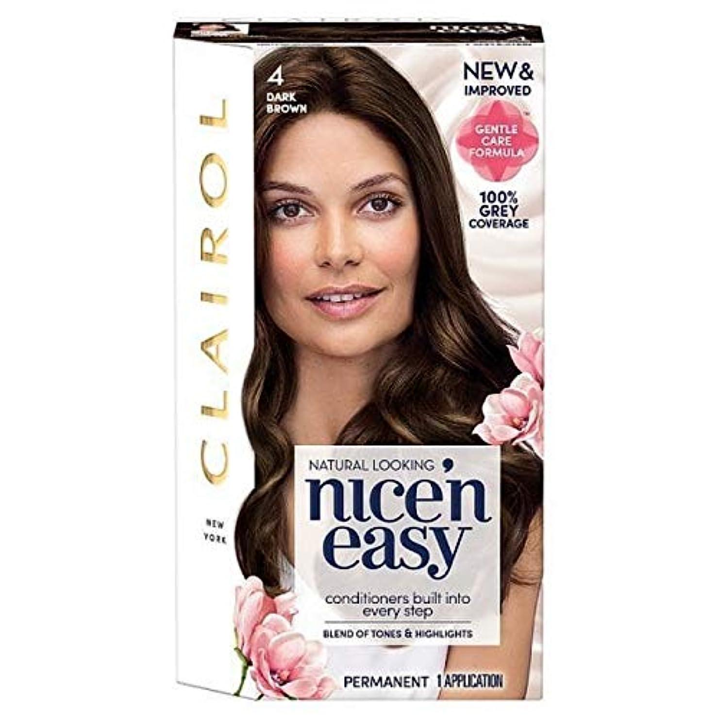 牛顕微鏡恩赦[Nice'n Easy] Nice'N簡単4ダークブラウン - Nice'n Easy 4 Dark Brown [並行輸入品]