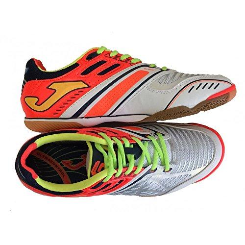 Zapatillas de fútbol sala Joma Lozano 402Blanco-Naranja sala Blanco Size: 42