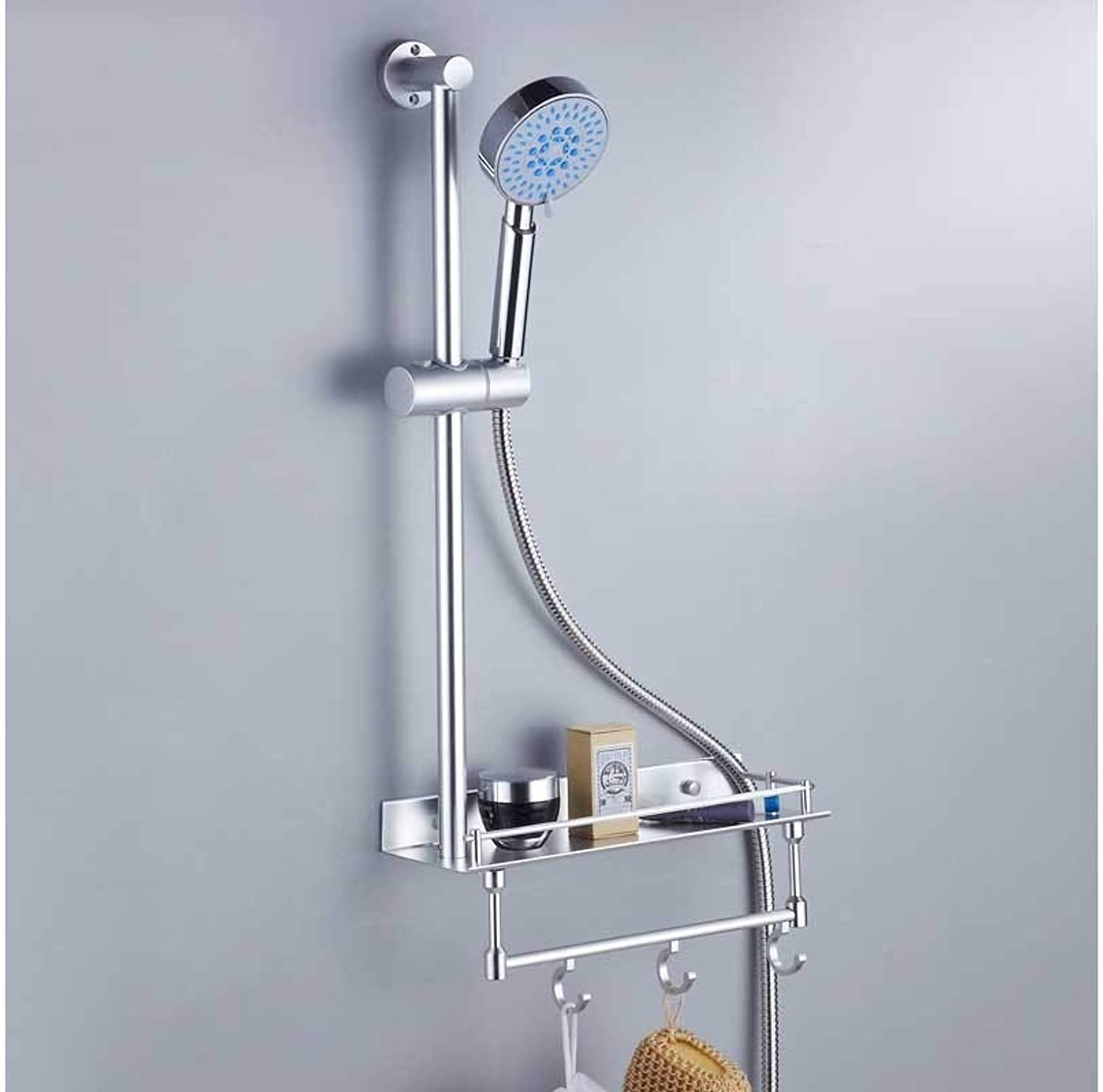 Bathroom Shower Space Aluminum Lifting Rod Adjustable Shower