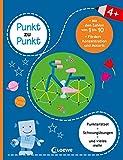 Punkt zu Punkt - Mit den Zahlen von 1 bis 10 (blau): Punkterätsel für Kinder ab 4 Jahre