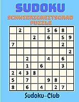 Sudoku Schwierigkeitsgrad Puzzle: Entspannen Sie sich und loesen Sie dieses 300 schwere Sudoku mit Loesungen am Ende des Buches