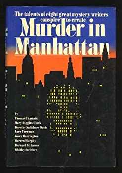Murder in Manhattan 0688064752 Book Cover