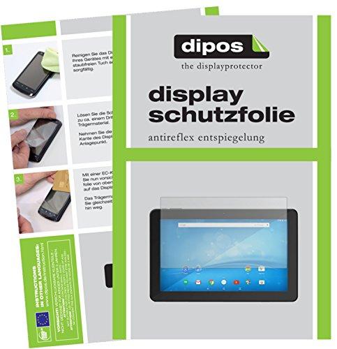 dipos I 2X Schutzfolie matt kompatibel mit 15.6 Zoll Wide 345 x 194 mm Folie Displayschutzfolie