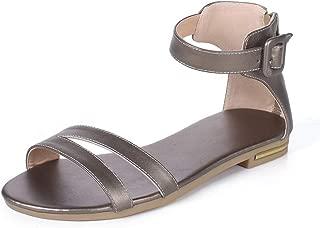 BalaMasa Womens ASL06805 Pu Fashion Sandals