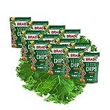 Brad's Plant Based Organic Veggie Chips, Kale, 12 Bags, 36 Servings Total