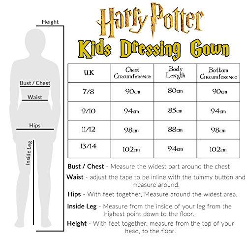 Harry-Potter-Kids-Dressing-Gown-Gryffindor-Soft-Fleece-Robe-For-Boys-Or-Girls
