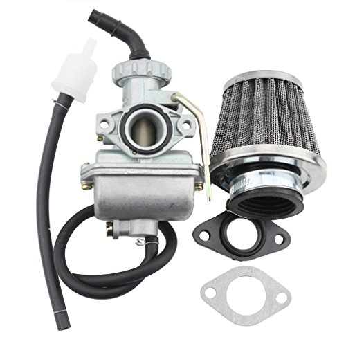 GOOFIT 16mm carburador con filtro de aire para 50cc 70cc 90cc ATV Dirt Bike Go Kart
