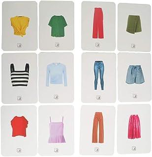 Baralho de Estilo e Looks, Compacto, 175 Cartas, Joga Moda na Roda Consultoria de Imagem