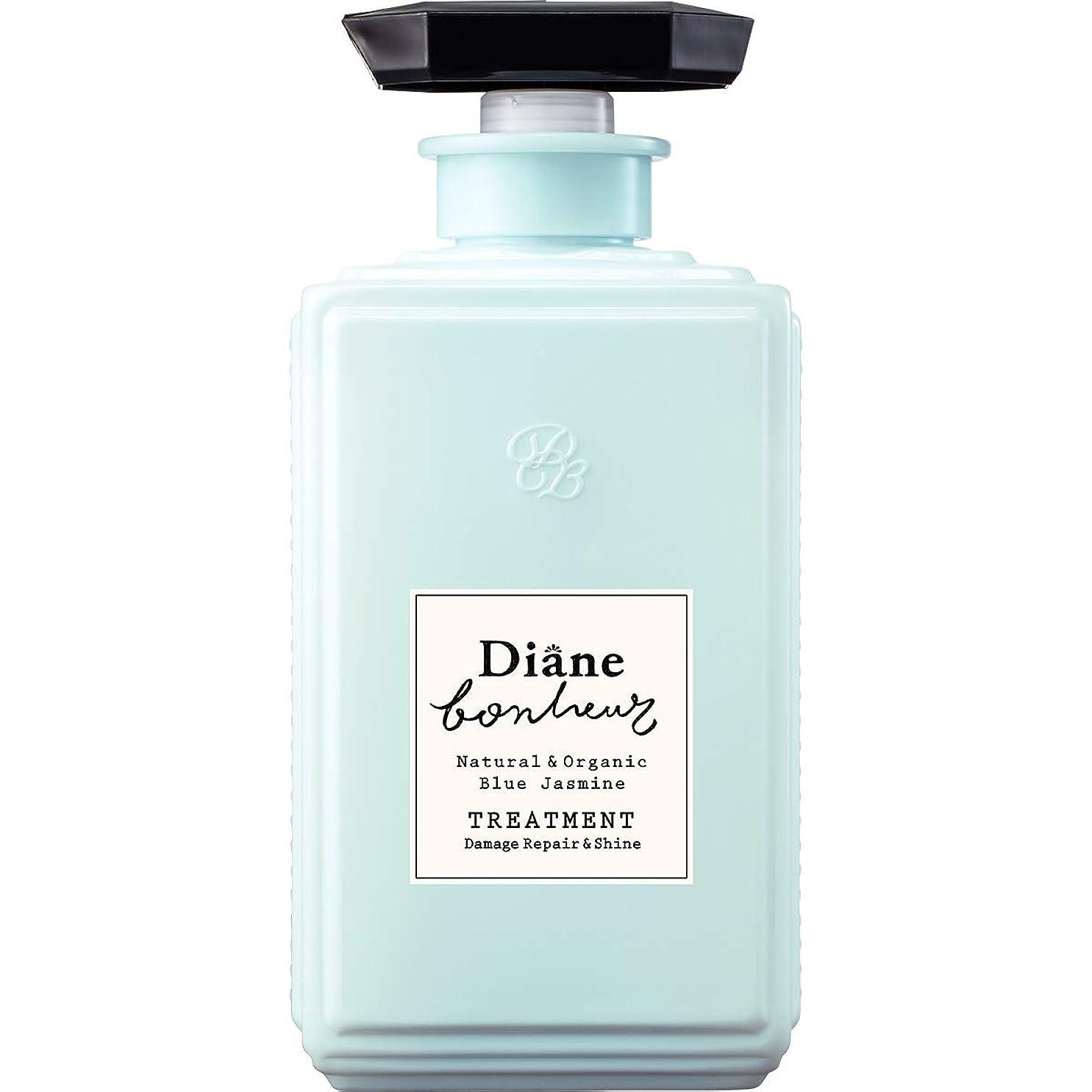 広い彼自身ひばりダイアン ボヌール トリートメント ブルージャスミンの香り ダメージリペア&シャイン 500ml