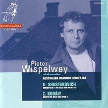 Shostakovich: Concerto No. 1 for Cello and Orchestra / Kodály: Sonata for Cello Solo, Op. 8